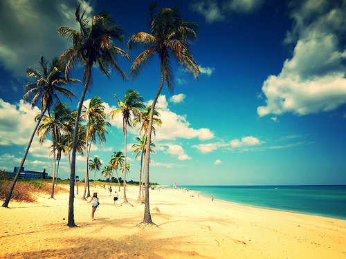 Caribbean beach series ..  Cuba
